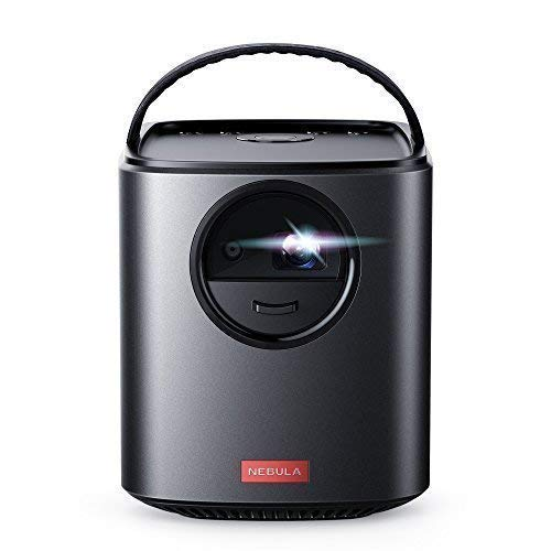 Nebula, by Anker, Mars II 300 ANSI lm Portable Projector with 720p DLP Picture, 10W Speakers, Android 7.1, 1-Second Autofocus, 30-150'' Screen, 3-Hour Playtime, Broad Connectivity, and Screen Casting by Anker