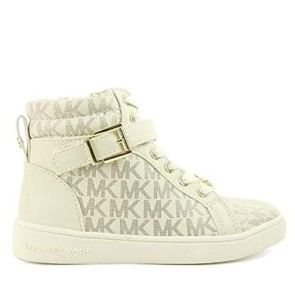 Michael Kors Zia Ivy Abigail Vanilla Juniors High Tops Ankle Boots (13.5 UK) 1