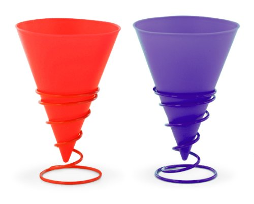 Jelly Belly 2 Silicone Cups and 2 Holders