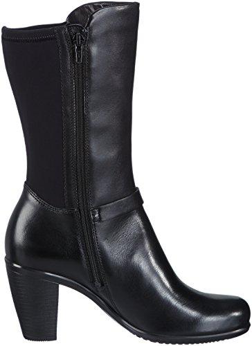 Ecco ECCO TOUCH 75B - Botas de cuero para mujer negro - Schwarz (BLACK/BLACK 51707)