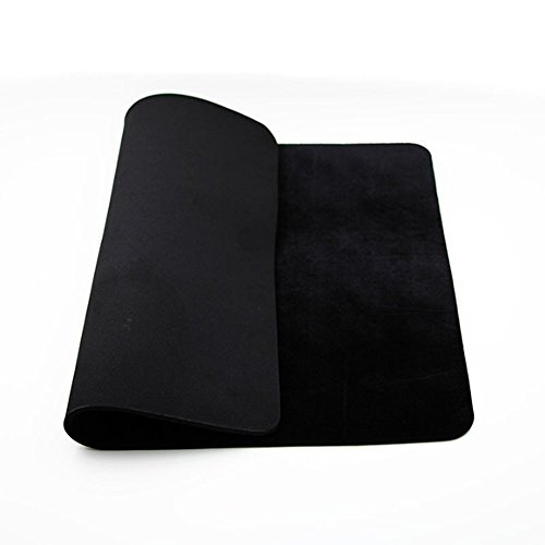 Large Size 23.62″ x 15.75″ Black Professional Poker Card Deck Mat Pad Close-up Magic Accessories