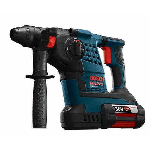 Bosch RH328VC36KRT 36V Cordless Lithium-Ion 1-1/8 in. SDS-Plus Rotary Hammer Kit (Certified Refurbished) by Bosch