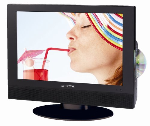 Audiovox FPE1507DV 15-Inch HD Flat Panel TV with Built-in DV