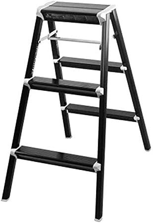 STOOL Sencillo Multifuncional Plegable Heces, Escalera de Aluminio Grueso de Escalera Inicio Paso Toma de Almacenamiento en Rack Decoración de Regalos,Blanco,42 × 53 × 56Cm: Amazon.es: Bricolaje y herramientas