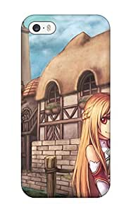 Durable Protector Case Cover With Sword Art Online Konachan Hot Design For Iphone 5/5s