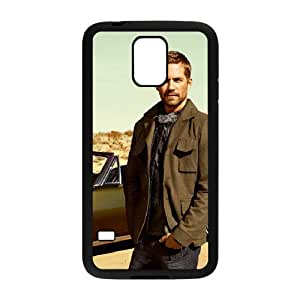 D-PAFD Customized Print Paul Walker Hard Skin Case Compatible For Samsung Galaxy S5 I9600