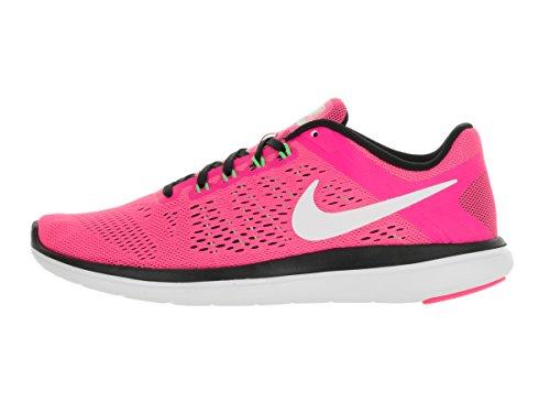 Nike WMNS Donna RN 2016 bianco Flex rosa Scarpe Running Nero OOqwr