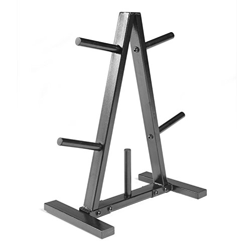 - CAP Barbell Plate Rack, 1-Inch, Black