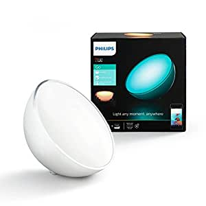 Philips Hue Go Portable Dimmable LED Smart Light Table Lamp, Works with Amazon Alexa