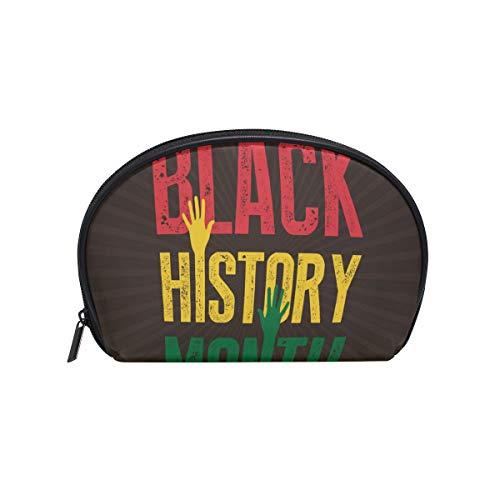 Cosmetic Bag Black History Month Sunburst Girls Makeup Organizer Box Lazy Toiletry - Shadow Box Golf History