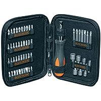 Black & Decker 56 Pieces Ratchet Scewdriver Set, A7104-Xj,