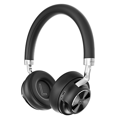 Proxelle Wireless Headphones On-Ear Bass HiFi Stereo Portable Wired Wireless Headset Built-in Mic 15H Playtime Lightweight with Carrying Case for Travel Work iPhone Android PC Cell Phones TV Cosy