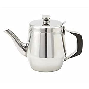 4X Commercial Stainless Steel Teapot 48Oz Sltp003 S-2927X4
