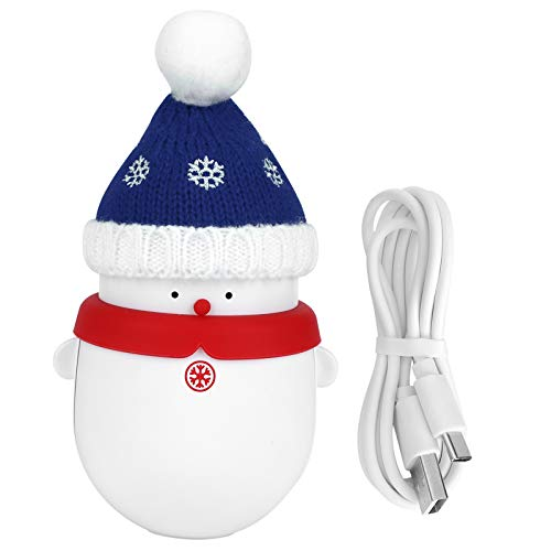 6000 mAh oplaadbare handwarmer, 2 versnellingen mini USB draagbare handwarmer voor kamperen vissen jagen, kerstcadeau
