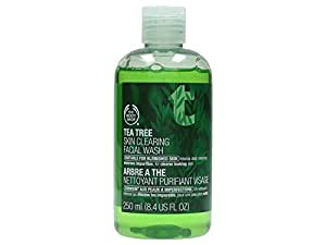 The Body Shop Tea Tree Skin Clearing Facial Wash Regular, 8.4 fl. Oz. (Packaging May Vary)