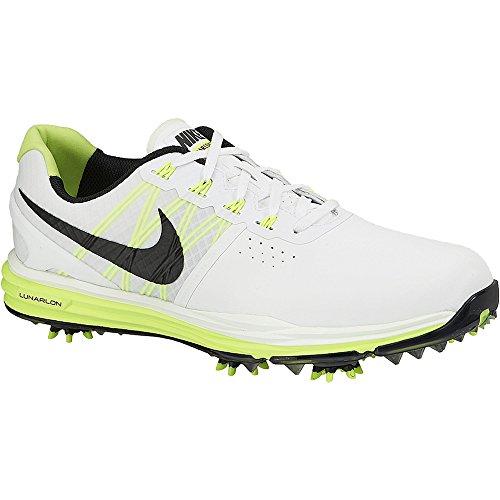 Nike Lunar Control 3 Golf Shoes 2015 White/Volt/Black Med...