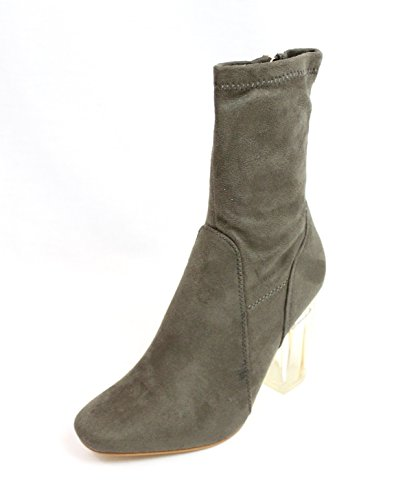 No frontin Olive Heel Glass Stretch ROBBIN Boot CAPE TAMMYS Exclusive Ankle IxTnS