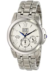 Seiko Mens SNP065 Stainless Steel Watch with Link Bracelet