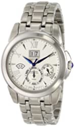 Seiko Men's SNP065 Stainless Steel Watch with Link Bracelet