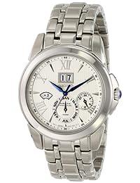 Seiko Men's SNP065 Analog Silver Dress Watch