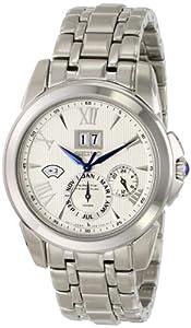 Seiko Men's LeGrand Sport Silvertone Kinetic Perpetual Calendar Watch