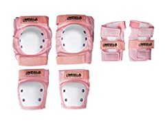 Keep those young knees, elbows and wrists protected while they bust out the skate moves with Impala's Youth Protective Pack. So good looking they definitely won't fight wearing them, and the perfect match to Impala's Quad Rollerskates