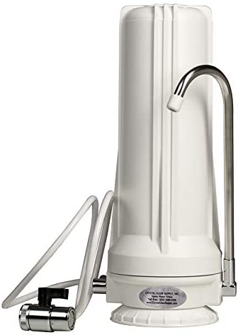 Crystal Clear Counter Top Drinking Water Filter