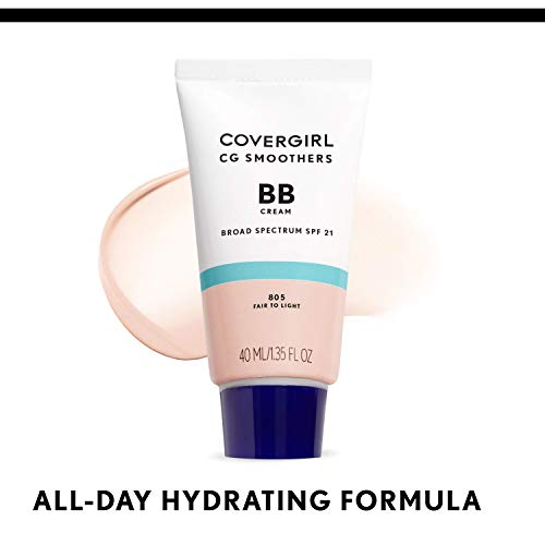 COVERGIRL Smoothers Lightweight BB Cream, Medium to Dark 815, 1.35 oz (Packaging May Vary) Lightweight Hydrating 10-In-1…