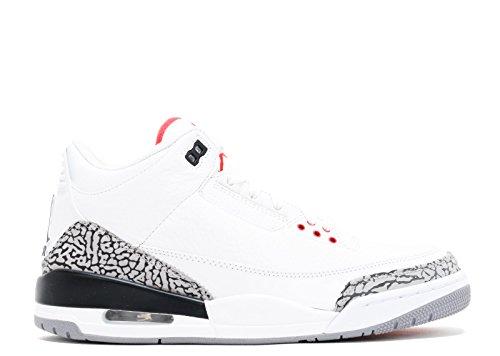 cemento Grigio 3 nero Grey D 8 Red White Jordan bianco blk cement Iii Us Fire Air m Retro Red RwS80cHq