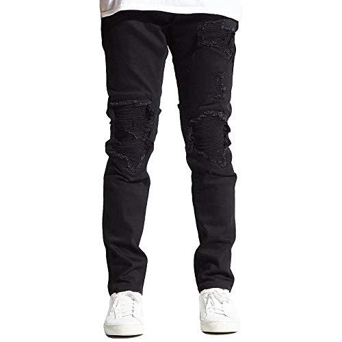 Biker Jeans Embellish Denim Black In Julie Noir arq5rZ