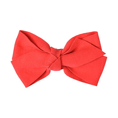 Red 5 Inch Bow Soft Cotton