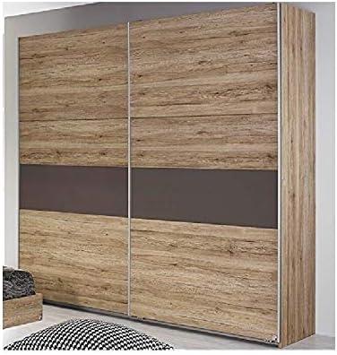 Armario de 175 cm con puerta corrediza Rauch Almada de madera de ...