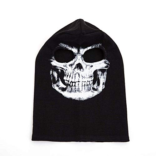 6cd5386b3ff MW2 Ghost Mask Full Call-of-Duty Face Cover Mask Ghosts Punisher Balaclava  Skeleton