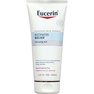 Eucerin Sensitive Skin Redness Relief Soothing Cleanser 6.8 Fluid Ounce (Pack of 3)