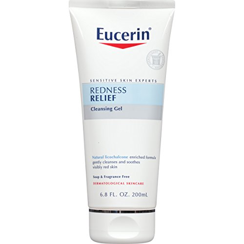 41ZzIWNFTTL Eucerin Sensitive Skin Redness Relief Soothing Cleanser 6.8 Fluid Ounce (Pack of 3)