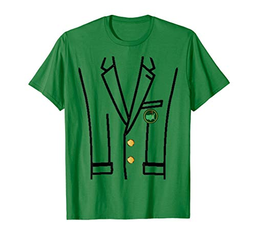 T-Shirt The Green Jacket Master Golf from Funny Golf Shirt, Apparel accessories