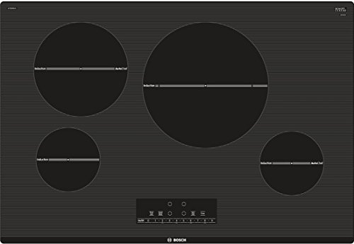 NIT8068UC 30 800 Series Induction Cooktop with 4 Elements AutoChef Independent Countdown Timer and SpeedBoost in Black
