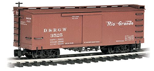 Bachmann Trains Train Rolling Stock Box Car D & Rgw Large Scale