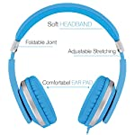 RockPapa I20 Foldable Adjustable On Ear Headphones