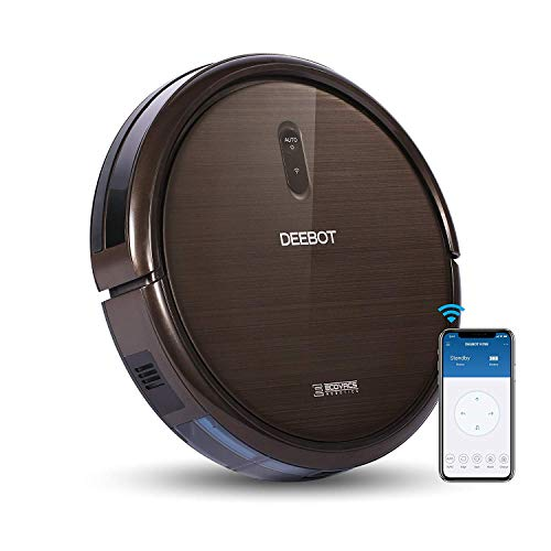 ECOVACS DEEBOT N79S Robot Vacuum Cleaner with Max Power Suction, Alexa Connectivity, App Controls, Self-Charging for Hard Surface Floors & Thin Carpets (Certified Refurbished)