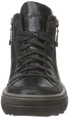 Legero 700852, Zapatillas Altas Mujer Negro  (Schwarz 00)