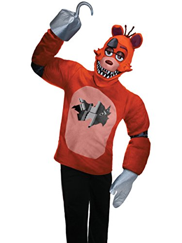 Rubie's Men's Five Nights at Freddy's Foxy Costume, Multi, Small ()