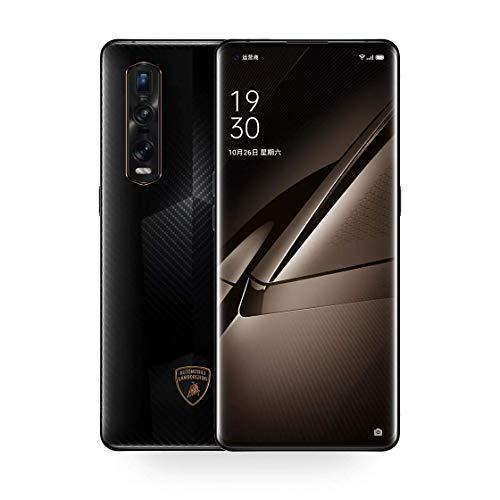 """Original Oppo Find X2 Pro 12G+256GB 5G Mobile Phone Snapdragon 865 Android 10 6.7"""" OLED 120HZ 48.0MP 65W Charger Global Warranty Cellphone by-(Real Star Technology) (Black (Ceramic) 12+256gb)"""