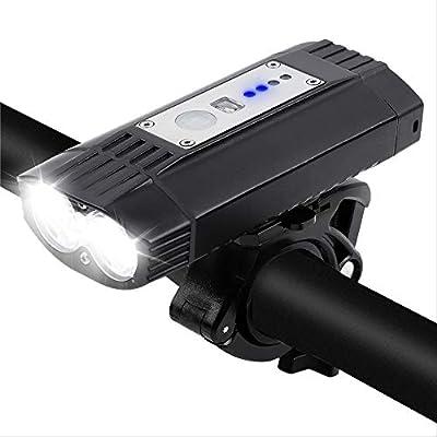 hhxiao - Faros LED para Bicicleta T6 MTB - Linterna Frontal para ...