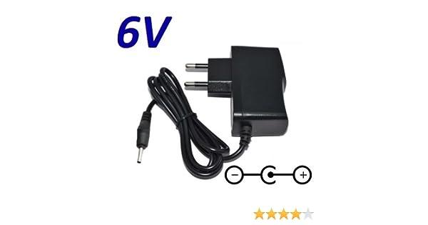 Cargador Corriente 6V Reemplazo SSW-2256EU Recambio Replacement: Amazon.es: Electrónica