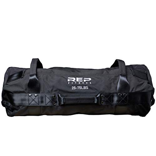 Rep Fitness Sandbag - Medium, Black, 25-75 ()