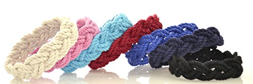 Mystic Knotwork Sailor Bracelet Made in USA (Large (Wrist 7-8 in) Narrow, Natural) by Mystic Knotwork (Image #1)
