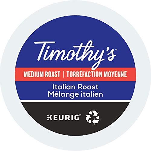 (Tully's Coffee Italian Blend Coffee, Keurig K-Cups, 96)