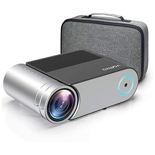 chollos oferta descuentos barato Vamvo Proyector Full HD 1080P Mini Proyector L4200 con Dolby Proyector Portátil 5500 Lúmenes 50000 Horas Vida Cine en Casa Compatible con HDMI VGA AV USB etc