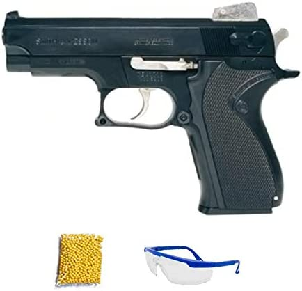 M5906 Smith&Wesson Pistola de Airsoft Calibre 6mm (Arma Aire Suave de Bolas de plástico o PVC). Sistema: Muelle. <3,5J